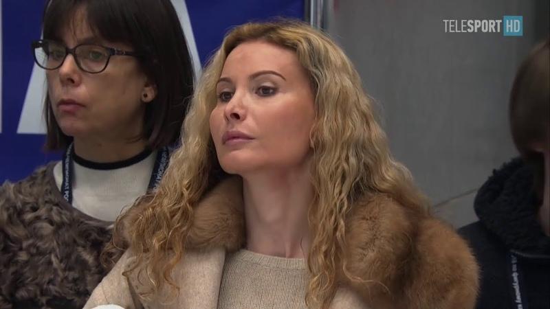 2018 Russian Nationals - Ladies SP warm up 2 (Telesport)