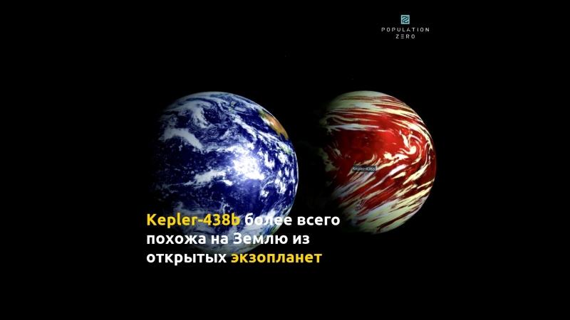 Путешествие на Kepler-438b. Игра Population Zero