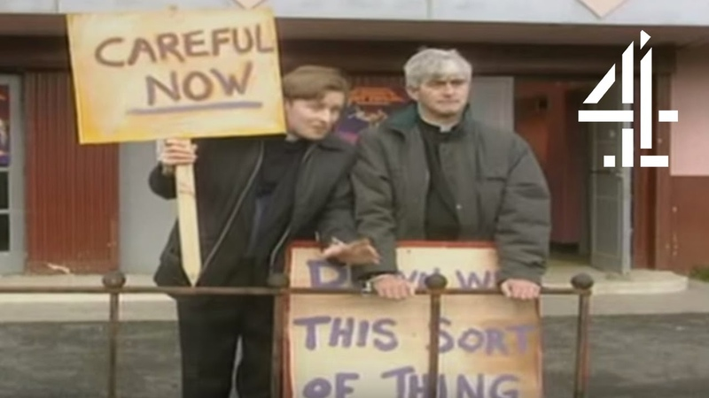 Down with This Sort of Thing. Careful Now. | Father Ted