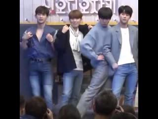 when you ask Monsta X to strike a cool pose, they become the most adorable dorks