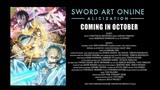 Sword Art Online Alicization PV #1