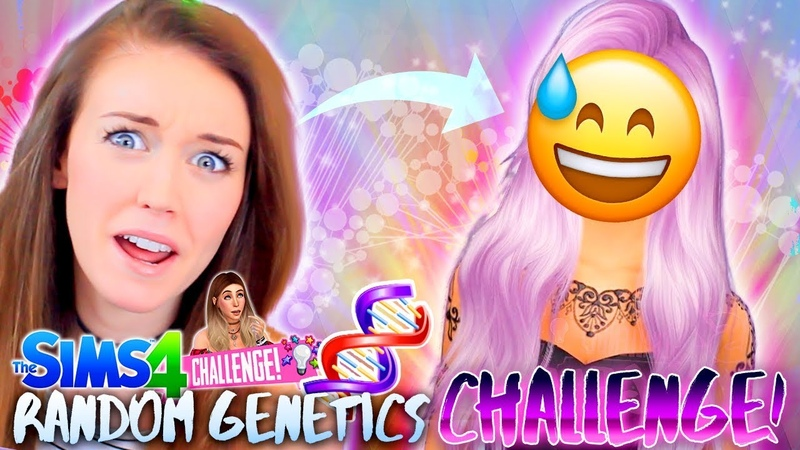 DID WE GET LUCKY?! 😅 - Sims 4 Random Genetics Challenge 💡 - (CAS!)