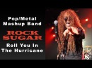 Rock Sugar | Adele Scorpions Metal Mashup | Roll You In The Hurricane | 80s Hard Rock