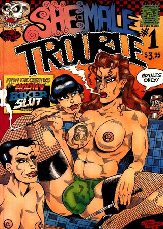 She-Male Trouble 1