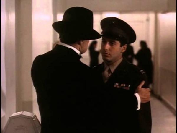 The Godfather deleted scene visit to Genco full scene