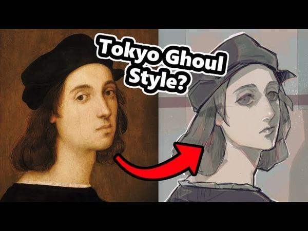 Art Style Challenge: Anime and Manga Styled Painters!!