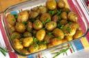 Молодая картошка с травами