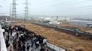New video of Tsunami invading the Port of Sendai #1 [stabilized] - Japan earthquake 2011