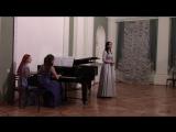 Довженко Маргарита - Where`re you walk из оратории Семела Г.Ф. Гендель