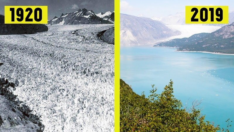 Greenland - Global Warming Then and Now (1920 2019)