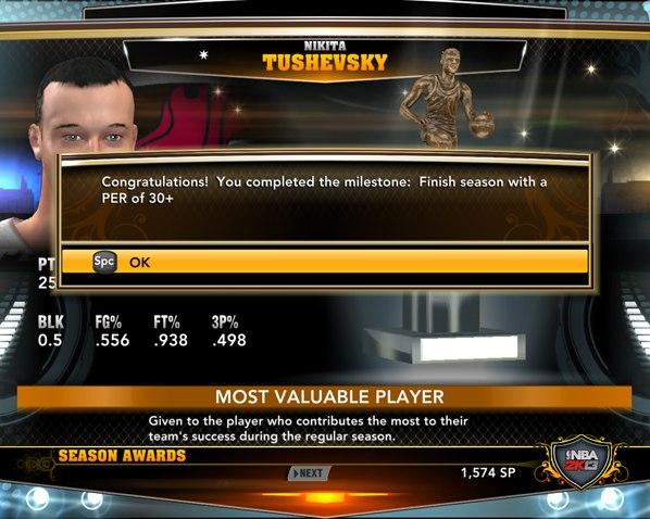 NBA2K13 MVP