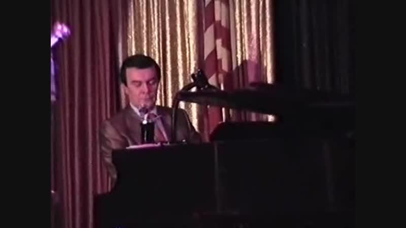 М. МАГОМАЕВ в США на вечере памяти Марио ЛАНЦА