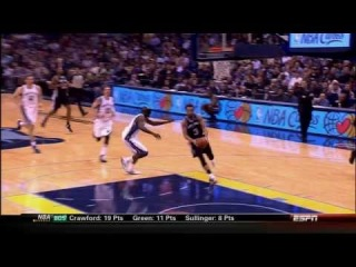 Manu Ginobili's SICK Bounce Pass for the Belinelli Dunk