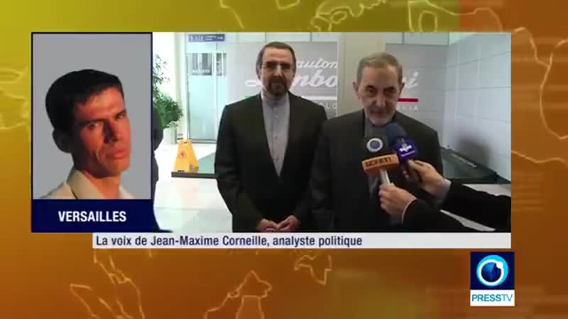 Jean Maxime Corneille : Russie, Chine et Iran se construisent un avenir commun. (2min45s)