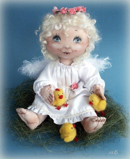 Пасхальный ангел (4 фото) - картинка