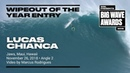 Lucas Chianca at Jaws 2 - 2019 Wipeout of the Year Entry - WSL Big Wave Award