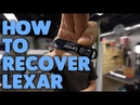 How to recover data from a bent Lexar flash drive