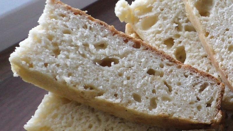 Быстрый и вкусный бездрожжевой хлеб на варенце в фольге