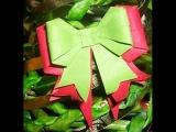 Как сделать из бумаги оригами бантик мастер класс для начинающих. Origami bow
