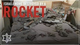 Home in Central Israel Hit by Hamas Rocket