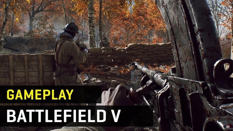 Gameplay exclusivo de Battlefield V - Campaña y multijugador