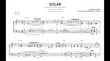 Keith Jarrett - Solar (Solo Piano) - Transcription