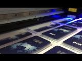 Уф печать на прозрачном глянцевом чехле
