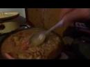 001_ПЕВЕЦ ПРОРОК САН БОЙ готовит вкусный кулеш на сковородке жена обьедается ха_ха_ха,