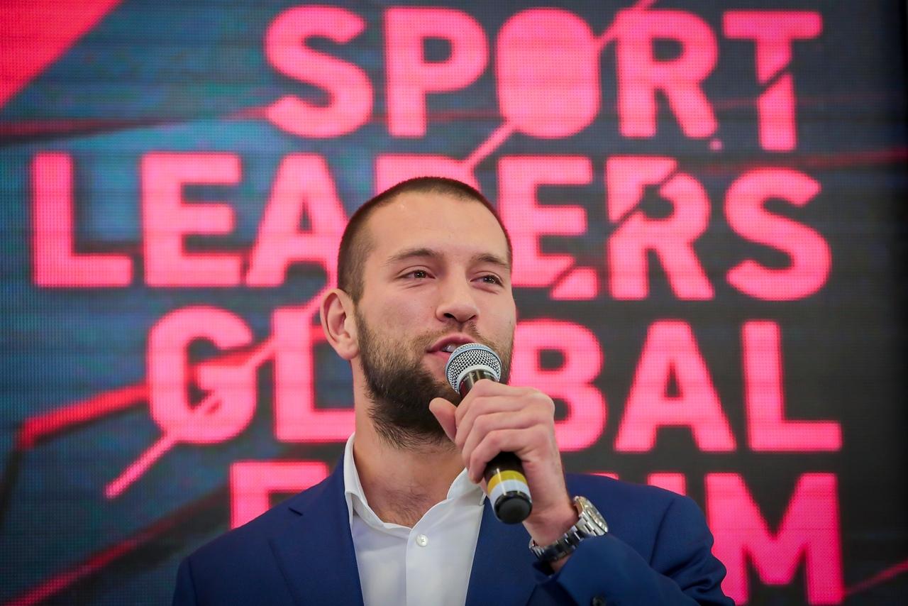 Ростислав Плечко Sport Leaders Global Forum