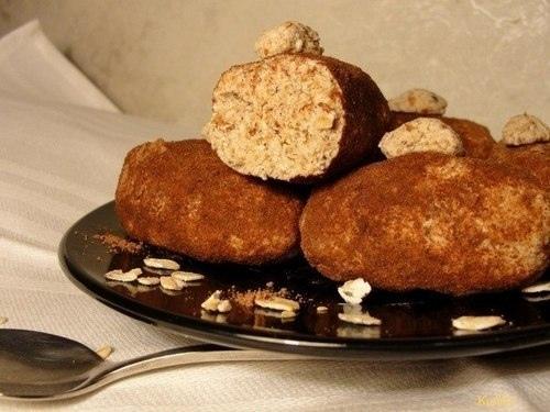 Низкокалорийное пирожное «Картошка»