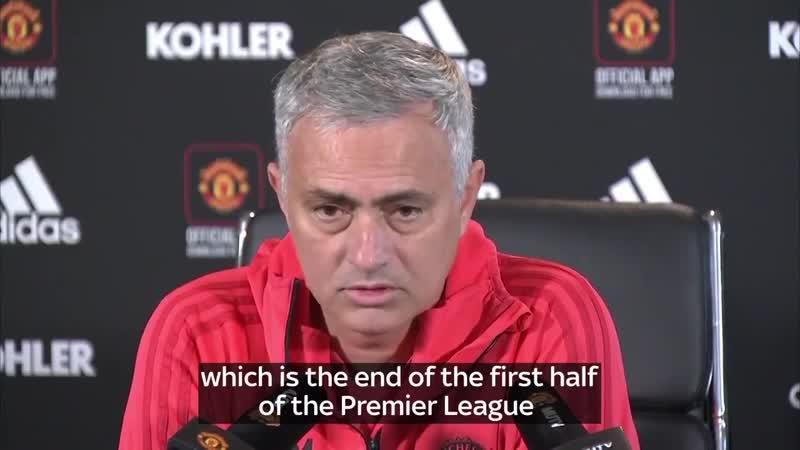 Fighting talk from Jose Mourinho.