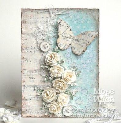 открытки с бабочками: