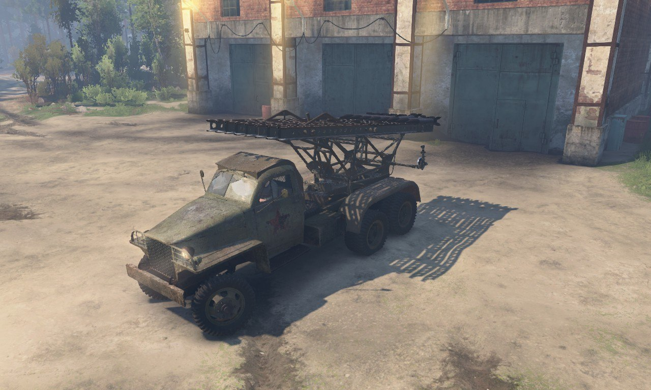 Studebaker US-6 (Red Army) для 03.03.16 для Spintires - Скриншот 3