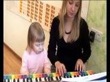 Музыкальное занятие для детей 1-2 года.