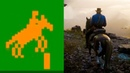 Evolution of Horse Riding in Games 1980-2018