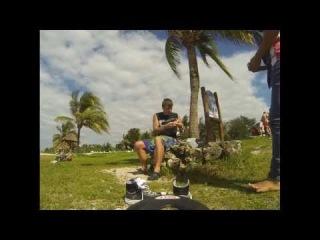 cozumel mexico scooter beach break(дерганый timelapse)