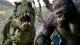 V.Rex vs King Kong. Вастатазавр Рекс против Кинг Конга - Красивейшая Битва