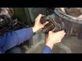 Ремонт редуктора заднего моста КАМАЗ - Часть 3 - регулировка подшипников хвостовика