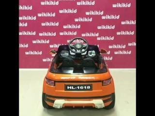 Детский электрический автомобиль  range rover