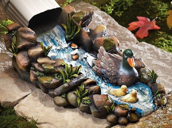 Креатив для водостока