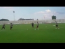 Un quartetto così per la sfida di calcio-tennis al JTC. - - @PauDybala_JR @douglascosta ️