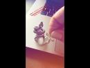 Bill Kaulitz Instagram Stories (23.08.2018): Милейшие подарочки от Bam Margera Merchandise. Спасибо, ребята! 😘