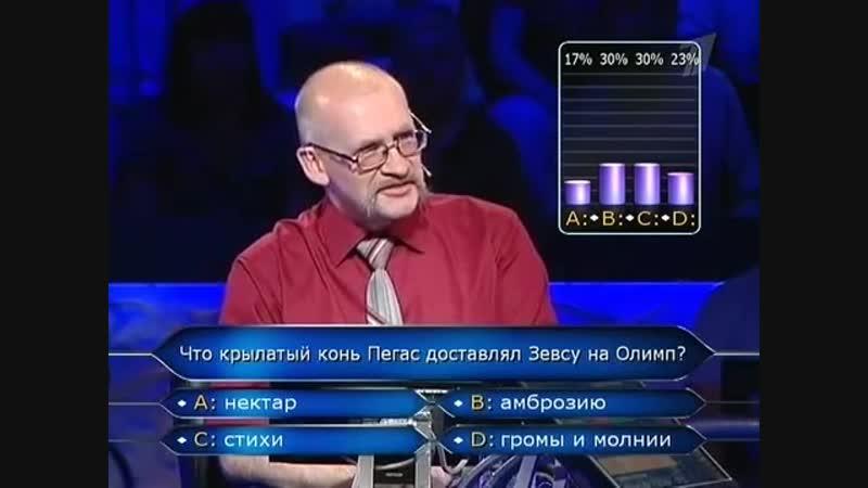Кто хочет стать миллионером (14.08.2010)