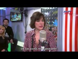 2017 02 14 Milla Jovovich on radio station Europa Plus in Moscow speaks about Lee JoonGi