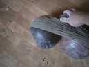 Нереальный жим гиря мотанка 40 16 кг вверх дном