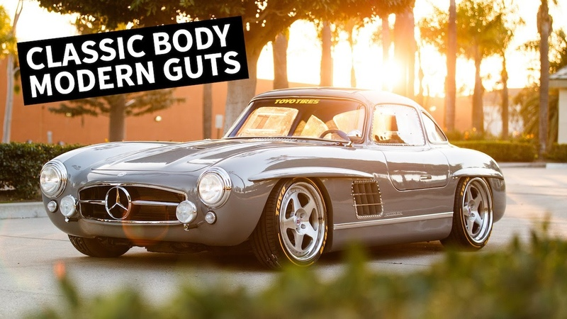Cloning a $1M Car Mercedes 300SL With a Modern EngineChassis