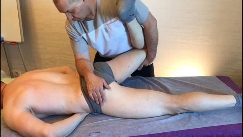 Спортивный массаж. Часть 6.