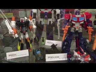 Botcon 2017 prototypes seen at Pete's Robot Convention
