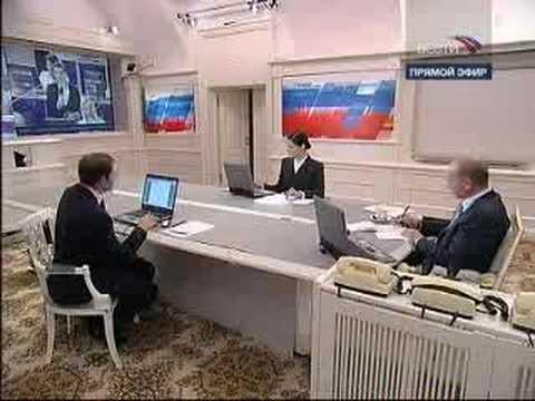 Бабуля звонит Путину