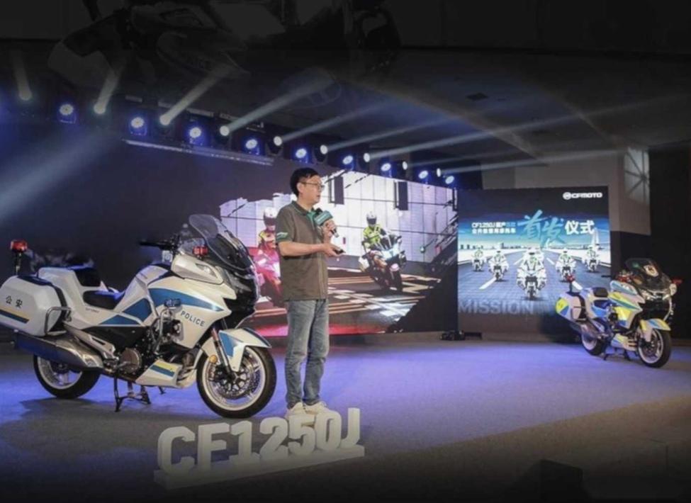 CFMoto CF1250J - самый большой китайский мотоцикл